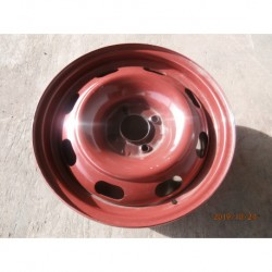 5401.P6 disk plechvý 6jX15/4x108x65 ET 27 červený 32.