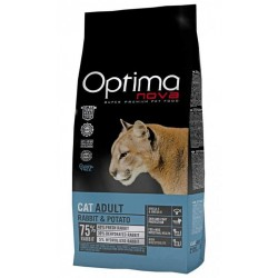 OPTIMAnova CAT RABBIT GRAIN FREE 2kg+Antiparazitni obojek 42cm ZDARMA