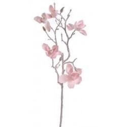 Zasněžená magnolie - růžová, 65cm
