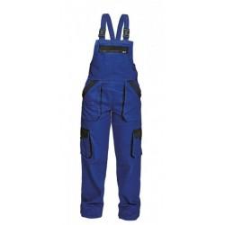 Montérkové laclové kalhoty dámské, modro-černé vel.42, MAX LADY