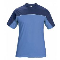 Pracovní triko modré, 100% bavlna, vel. - S