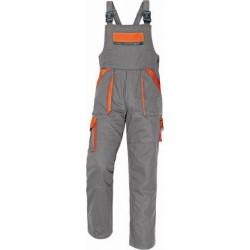 Monterky laclové šedo-oranž. vel. 54 MAX