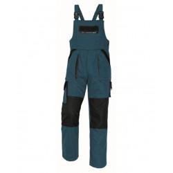 Montérkové laclové kalhoty dámské, šedo-zelené vel.44, MAX LADY EVO