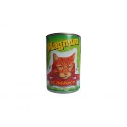 Konzerva pro kočky zvěřina 410g MAGNUM
