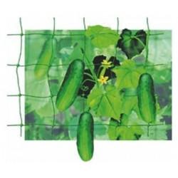 Síť opěrná na okurky 1,2x10m oko 10x10 cm