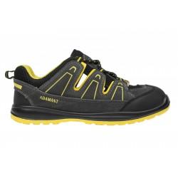 Sandály pracovní vzdušné černo-žluté vel. 44