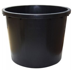 Káď nádrž na vodu černá 500l ø 104cm
