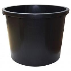 Káď nádrž na vodu černá 750l plastová ø122cm