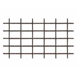 Mřížka FERRO 0,43x1,45m kovová hnědá