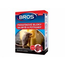 Parafinové bloky na myši a potkany 100g BROS