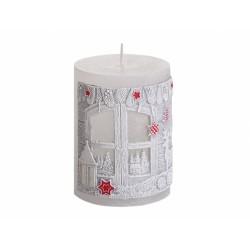 Svíčka vánoční - kouzelné Vánoce 7x9cm