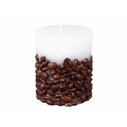 Svíčka - zalévaná káva 6x7cm