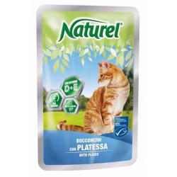Kapsička pro kočky platýz NATUREL 100g